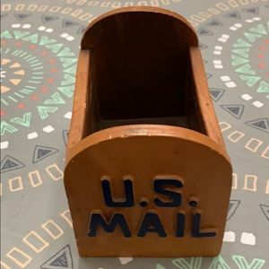 Mail anyone ? 1985 letter holder!